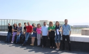 Staff and Students visit IBSU New Campus